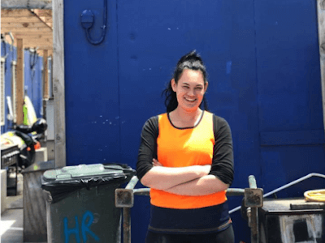 Donna – driven by carpentry apprenticeship